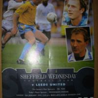 Memory Match No. 2:  Sheffield Wednesday 1, Leeds United 6   12.1.1992