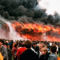 Bradford Fire Disaster 30th Anniversary   -   by Rob Atkinson