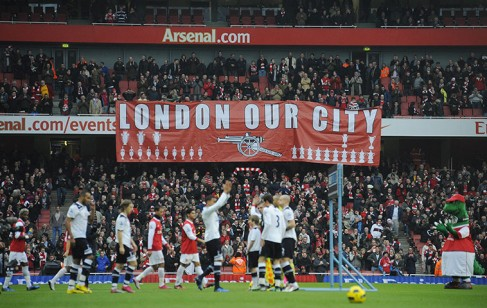 Arsenal, London's Pride