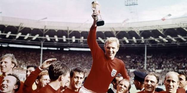 Bobby Moore Lifts the World Cup for the 'Ammers