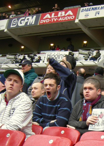 Hammers Fans Riveted by The Boleyn Experience