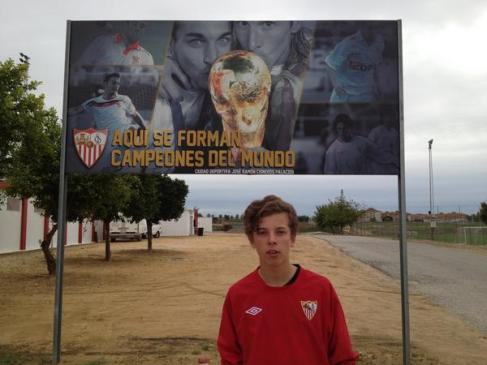 Leeds Fan Reuben Smith - On The Books at Sevilla