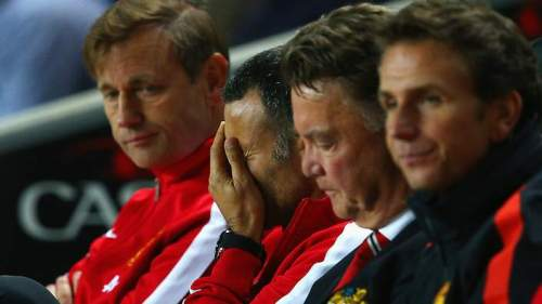 Giggs facepalm as Man U decline