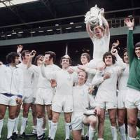 "Leeds Remain ""The Damned United"" for Jimmy Greaves and the BBC  -  by Rob Atkinson"