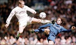 Happy Birthday to Batts, Leeds United's 90s Midfield Enforcer  -  by Rob Atkinson