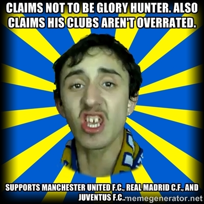 Don T Tar Leeds United Fans With The Man U Gloryhunters Brush By