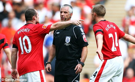 Look ref - here's what you do...