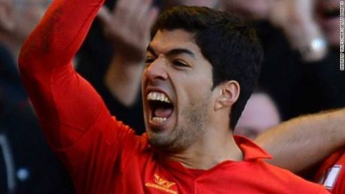 Luis Suarez - last laugh