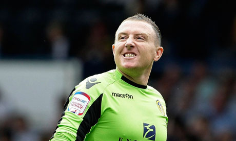 Gorgeous, pouting, keeper Paddy Kenny