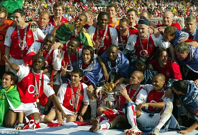Gooners' last Cup win, 2005