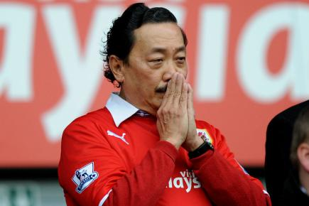 Vincent Tan, contemplating his less-than-prolific Keeper