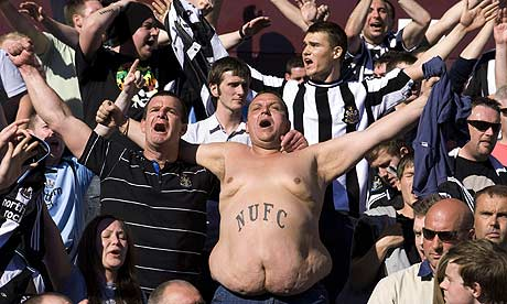 Those loveable Geordies