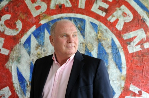 Uli Hoeneß in happier times