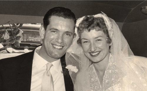 Kenneth Atkinson 7.7.1927 - 27.2.2015 Taken on my parents' wedding  day