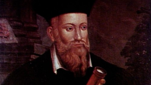 Nostradamus in happier days