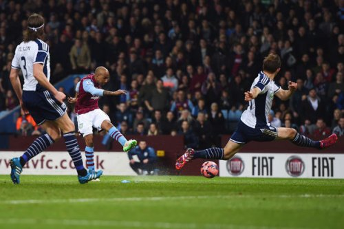 Delph mauls West Brom - and then the biter was bit