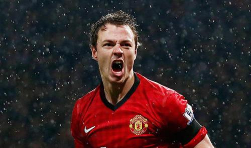 Great Expectorations: Man U's Evans in prolific form