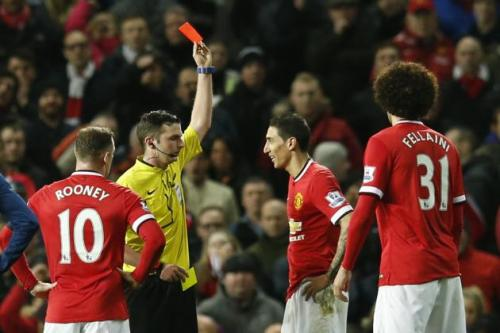 Michael Oliver ignores Rooney's plea for sanity and dismisses di Maria anyway