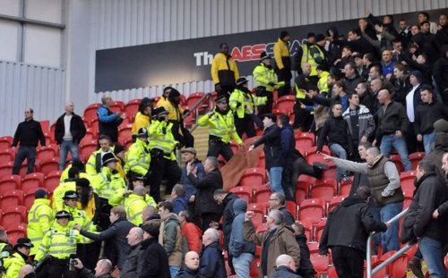 Millwall fans react with typical sportsmanship to Rotherham's late winner