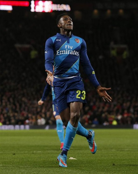 Welbeck bravely hides his utter grief