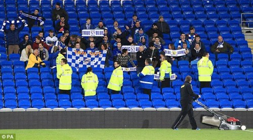 Too soft to go to Leeds: massed Cardiff fans safe at home