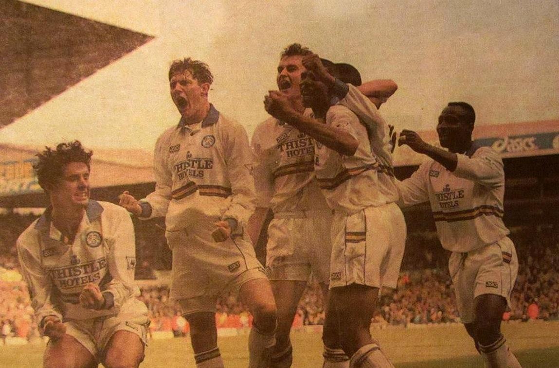 Get IIIIIIINN!!! Noel, Leeds United hero past and present