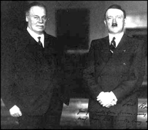 Rothermere of the Mail and Adolf Hitler - Best Friends Forever