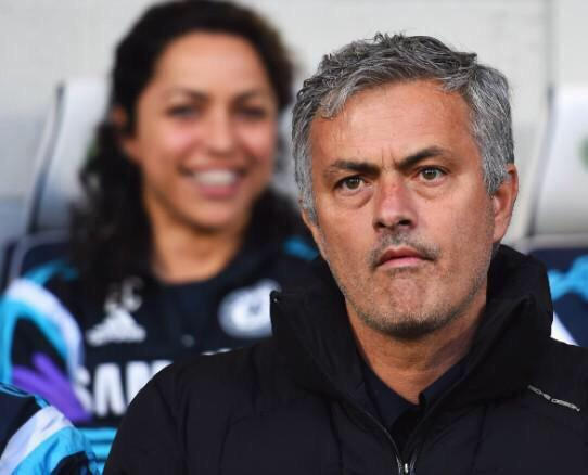 Jose - she's behind you...