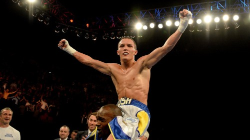 Josh Warrington: MOT to the top
