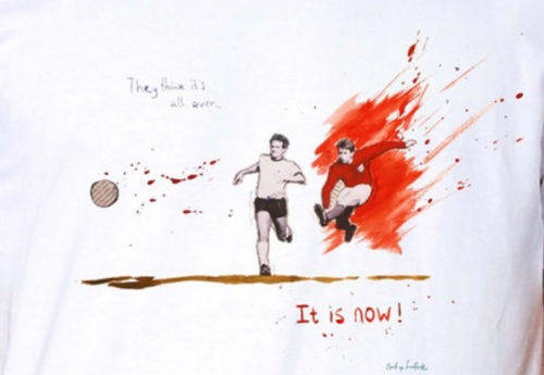 Art of Football remembers England's - and Leeds' - glory day at Wembley '66