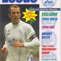21 Years Ago Today:  Leeds United Crush Man U on Christmas Eve -  by Rob Atkinson