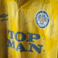 From Top Man to 32 Red - the History of Leeds Utd's Shirt Sponsorship