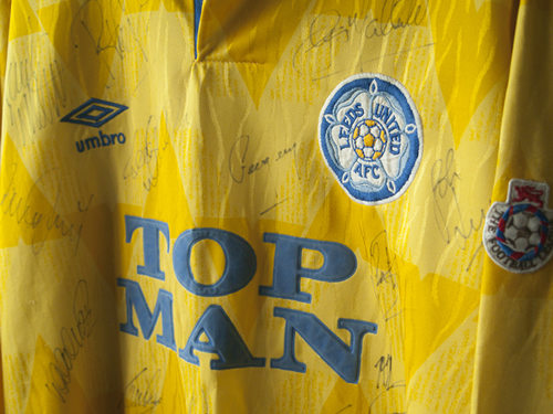 fd244893b From Top Man to 32 Red – the History of Leeds Utd s Shirt Sponsorship