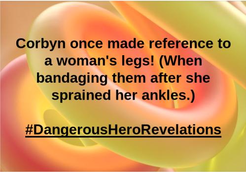 Corbyn lady legs