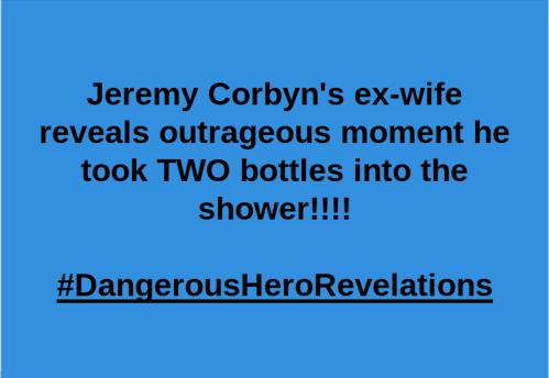 Corbyn wash n go